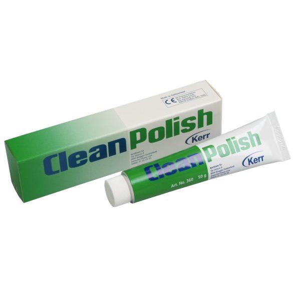 CleanPolish paszta, fluorid nélkül. (50g)