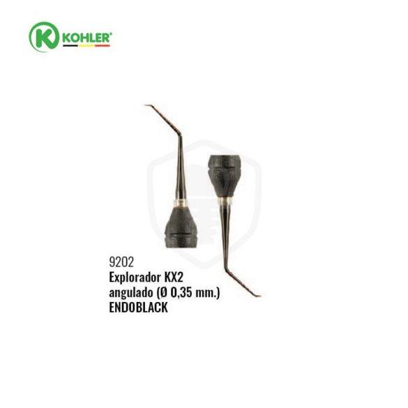 Endoblack® endo szonda KX2 egyenes Ø 0,35