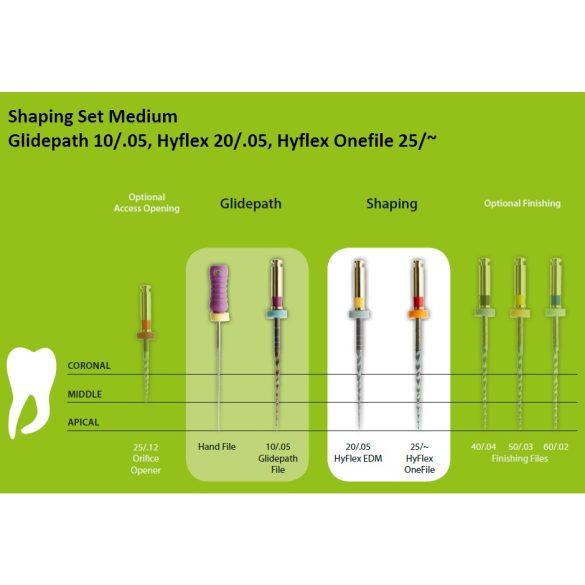 HyFlex EDM NiTi file szettek 25mm (3db)