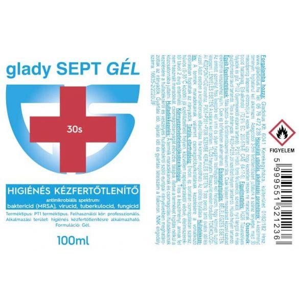 Glady SEPT Higiénés kézfertőtlenítő gél 100 ml