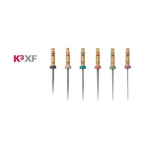 K3XF Ni-Ti Procedure pack  ISO 020-040 .04-.08-.10 (6db)