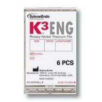 K3 Ni-Ti files ISO 015-040 .02-.06 (6db)