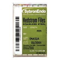 Hedstroem files ISO 015-040 21-25-30mm (6db)