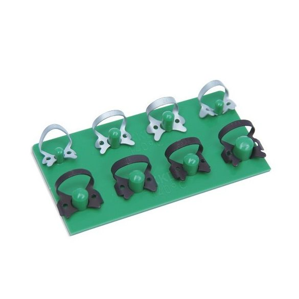 Kofferdam kapocs készlet 8db-os matt moláris - premoláris