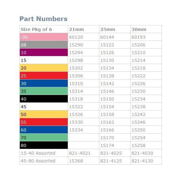 K-Flex Files ISO 045-080 21-25-30mm (6db)