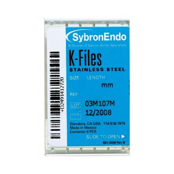 K-Files ISO 045-080 21-25-30mm (6db)