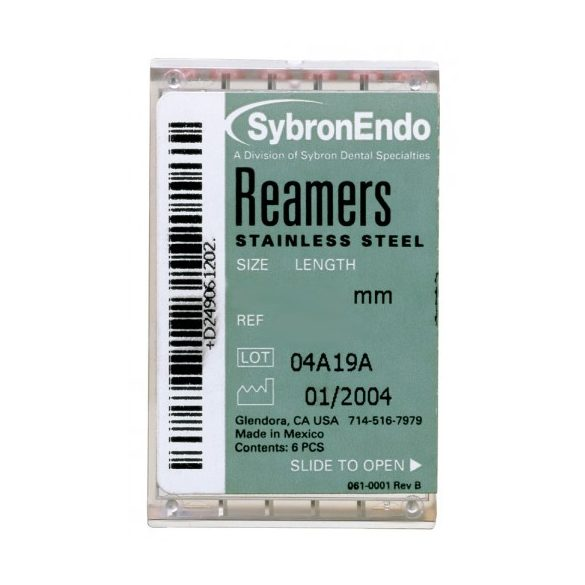 Reamers ISO 006-040 21-25-30mm (6db)