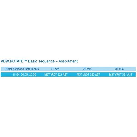 VDW.ROTATE BASIC SEQUENCE SOROZAT (3db)