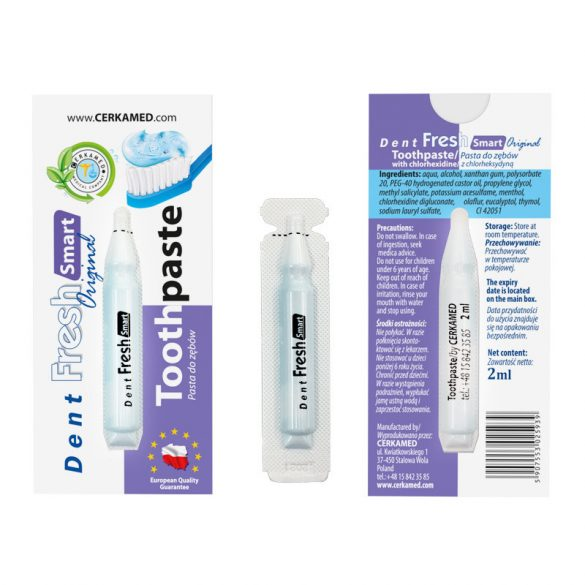 Dent Fresh Smart fogkrém 8 X 5 db