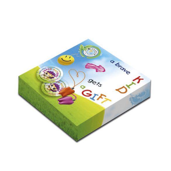 Gyermekjáték - Tejfogtartó doboz (5db)