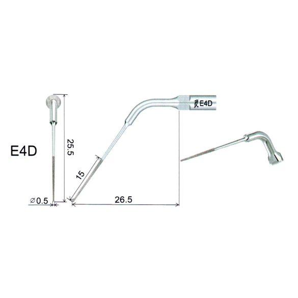 E4D Endodonciás Depurátor fej
